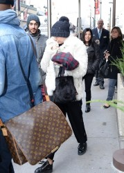 Miley Cyrus - Out in NYC 12/13/13