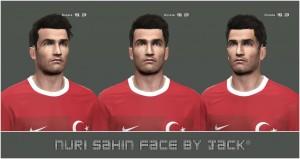 PES 2014 Nuri Şahin Face by Jack