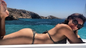 Kelly Brook - Wallpaper - Wide - Bikini - x 1