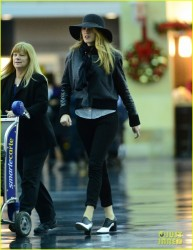 Blake Lively - at JFK Airport NYC 12/14/13