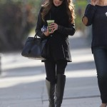 Lea Michele - Leaving Studio in W. Hollywood - 12/15/2013