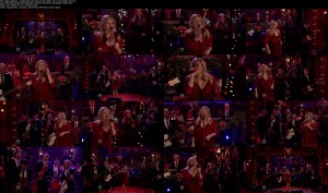 Kelly Clarkson - Underneath The Tree [Jimmy Fallon 12-12-13] (1080i)