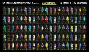 Download PES 2013 Liga BBVA 2013-14 Kitpack by L.Donovan
