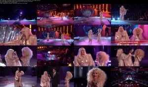 Lady Gaga - Do What U Want (Feat. Christina Aguilera) [The Voice 12-17-13] (1080i)