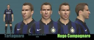 Hugo Campagnaro PES 2014 Face by Tartaguaro