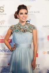 Eva Longoria - Global Gift Gala in Dubai 12/14/13