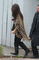 Selena Gomez - Visiting a friend in LA 12/19/13