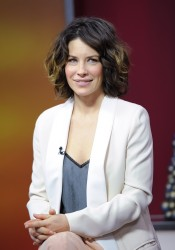 Evangeline Lilly - The Morning Show studios in Toronto 12/6/13
