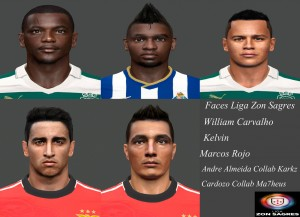 PES 2014 Facepack Vol.2 Liga Zon Sagres by miguelrioave