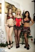Lisa Ann w/ Phoenix Marie & Tori Black - The Early Delivery (8/12/13) x56