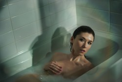 Jewel Staite - TJ Scott Photoshoot For His In The Tub Book