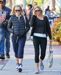 Reese Witherspoon - out in Brentwood 12/22/13