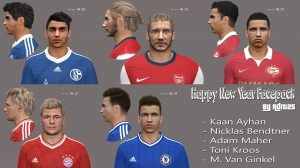 Download PES 2014 New Year Facepack by Adit25