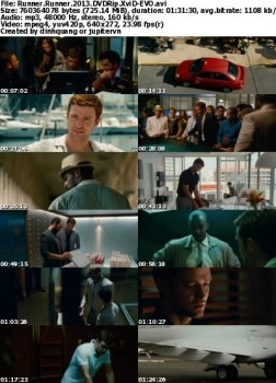 Runner Runner (2013) DVDRip MP3 XviD - EVO