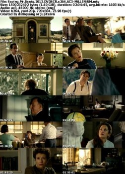 Saving Mr. Banks (2013) DVDSCR H264 AC3 - MiLLENiUM :March/01/2014