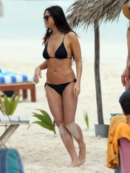 Demi Moore Wearing a Bikini in Mexico on December 29, 2013