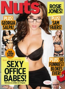 Nuts Magazine - Sexy Office Babes! (January 2014) UK