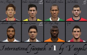 Download International Face pack n°1 by Vangelis