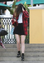 Kylie Jenner - Out in Calabasas 1/3/14