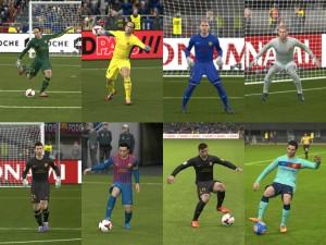 PES 2014 FC Barcelona 2011-2012 Kit Set GDB by J Dilla