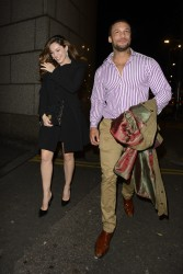 Kelly Brook - at Bodo's Schloss in London 1/4/14
