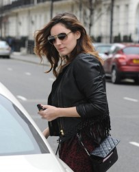 Kelly Brook - out in London 1/5/14