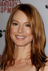 Alicia Witt - 'Justified' Season 5 premiere screening in LA 1/6/14