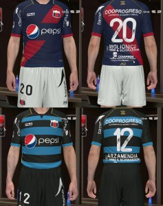 PES 2014 Deportivo Quito 2014 GDB Set by silasmendes