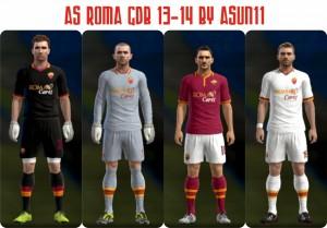 Download AS Roma Kits PES2013 by Asun11