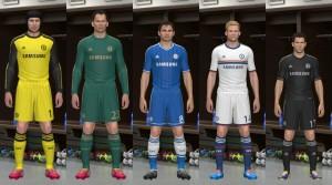 PES 2014 Chelsea Kits