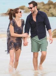 Ashley Greene - at Sandals Resort in the Bahamas 1/4/14
