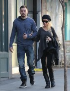 Christina Aguilera - West Hollywood 1/8/2014
