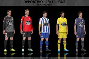 PES 2014 Deportivo 2013-2014 GDB by Txak
