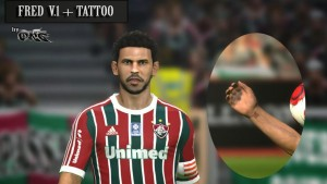 Download Fred Face + Tattoo PES 2014 by ONG