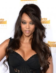 Tyra Banks - 50th Anniversary of the SI Swimsuit Issue in Hollywood 1/14/14