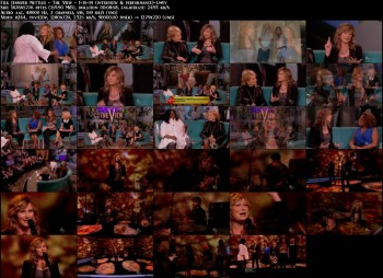 Jennifer Nettles - The View - 1-15-14 (interview & performance)
