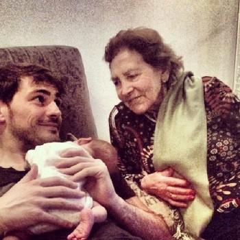 Iker con Martin y su abuela, instagram de Iker - 16/01/2014 4b2df0301688841