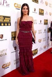Sandra Bullock - Critics' Choice Awards in Santa Monica 1/16/14
