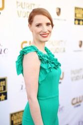 Jessica Chastain - Critics' Choice Movie Awards in Santa Monica 1/16/14