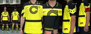 Download BVB CL Winning Kit PES 2014 by Olmajti