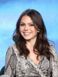 Aimee Teegarden - CW 2014 Winter TCA Tour in Pasadena 1/15/14