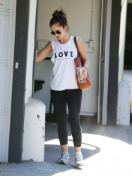 Minka Kelly - out in Beverly Hills 1/17/14