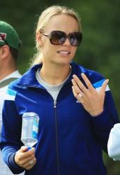 Caroline Wozniacki - Abu Dhabi HSBC Golf Championship 1/19/14