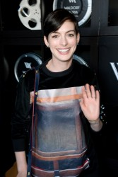 Anne Hathaway - Grey Goose Hosts Harvey Weinstein Football Party in Park City 1/19/14