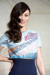 Olga Kurylenko - Christian Dior fashion show in Paris 1/20/14