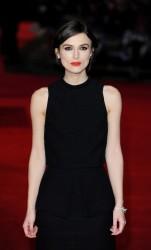 Keira Knightley - 'Jack Ryan: Shadow Recruit' premiere in London 1/20/14