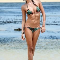 Elisabetta Gregoraci - Bikini Photos - Vacation - Kenya