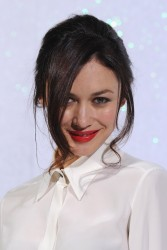 OIga Kurylenko - Chanel fashion show in Paris 1/21/14