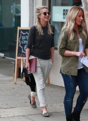 Julianne Hough - Shopping in Beverly Hills 1/21/14