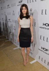 Alexandra Daddario - ELLE's Annual Women in Television Celebration in West Hollywood 1/22/14